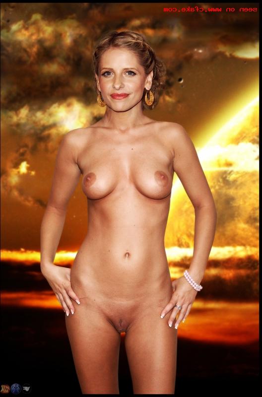 Sarah Michelle Gellar naked pics 13 - Sarah Michelle Gellar Nude Porn Sex Images