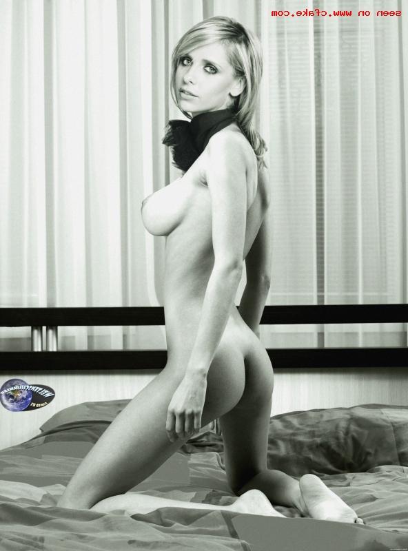 Sarah Michelle Gellar naked pics 15 - Sarah Michelle Gellar Nude Porn Sex Images