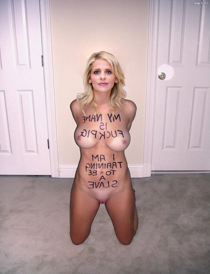 Sarah Michelle Gellar nude fakes 9 - Sarah Michelle Gellar Nude Porn Sex Images