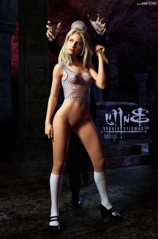Sarah Michelle Gellar porn 2 - Sarah Michelle Gellar Nude Porn Sex Images