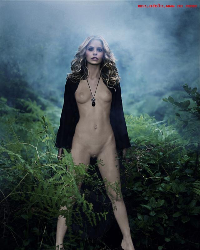 cfake Sarah Michelle Gellar xxx 20 - Sarah Michelle Gellar Nude Porn Sex Images